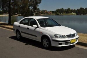 2001 Nissan Pulsar N16 ST White 4 Speed Automatic Sedan Five Dock Canada Bay Area Preview