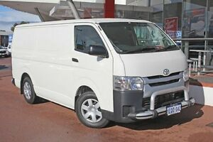 2014 Toyota Hiace KDH201R MY14 LWB French Vanilla 5 Speed Manual Van Myaree Melville Area Preview