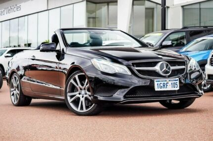 2013 Mercedes-Benz E400 A207 MY13 7G-Tronic + Obsidian Black 7 Speed Sports Automatic Cabriolet Wangara Wanneroo Area Preview