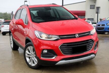 2016 Holden Trax TJ MY17 LT Red 6 Speed Automatic Wagon
