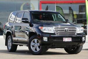 2015 Toyota Landcruiser VDJ200R MY13 Sahara Black 6 Speed Sports Automatic Wagon