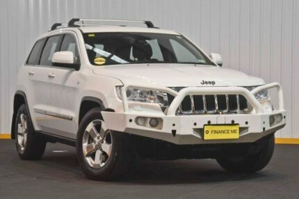 2012 Jeep Grand Cherokee WK MY2012 Laredo White 5 Speed Sports Automatic Wagon Seven Hills Blacktown Area Preview