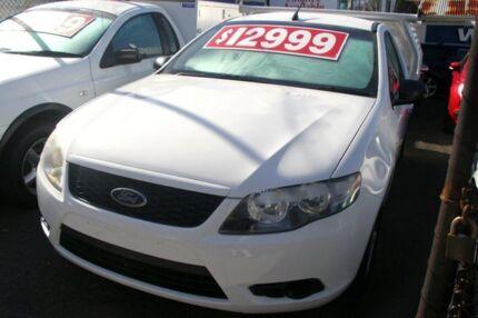 2008 Ford Falcon FG (LPG) White 4 Speed Auto Seq Sportshift Cab Chassis