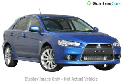 2011 Mitsubishi Lancer CJ MY11 Ralliart Sportback TC-SST Black 6 Speed Sports Automatic Dual Clutch Wilson Canning Area Preview