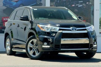 2016 Toyota Kluger GSU55R Grande AWD Black 8 Speed Sports Automatic Wagon Ferntree Gully Knox Area Preview