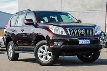 2011 Toyota Landcruiser Prado GRJ150R GXL Red 5 Speed Sports Automatic Wagon Osborne Park Stirling Area Preview