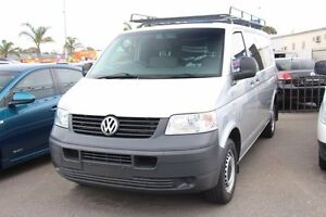 2009 Volkswagen Transporter T5 MY09 Low Roof Silver 6 Speed Sports Automatic Van Heatherton Kingston Area Preview