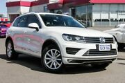 2016 Volkswagen Touareg 7P MY17 150TDI Tiptronic 4MOTION White 8 Speed Sports Automatic Wagon Myaree Melville Area Preview