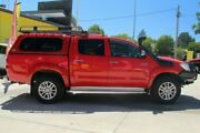 2014 Toyota Hilux KUN26R MY14 SR5 Double Cab Red 5 Speed Automatic Utility East Toowoomba Toowoomba City Preview