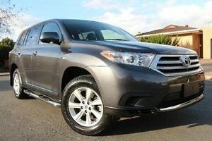 2013 Toyota Kluger GSU40R MY12 KX-R 2WD Grey 5 Speed Sports Automatic Wagon Nailsworth Prospect Area Preview