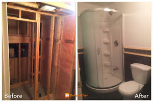 General Contracting, Basement Finishing, Bath Reno, Interlocking Cambridge Kitchener Area image 4