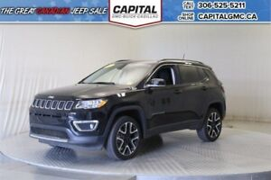 2017 Jeep Compass Limited 4WD*Sunroof*Leather*Nav*