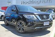 2017 Nissan Pathfinder R52 Series II MY17 Ti X-tronic 2WD Black 1 Speed Constant Variable Wagon Rockingham Rockingham Area Preview