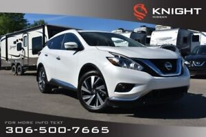 2017 Nissan Murano Platinum Leather | Heated & Cooled Seats | Na