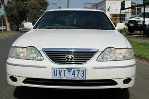 2005 Toyota Avalon MCX10R Mark III GXi White 4 Speed Automatic Sedan West Footscray Maribyrnong Area Preview