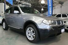 2005 BMW X3 E83 MY05 Upgrade 2.5I Silver 5 Speed Auto Steptronic Wagon Victoria Park Victoria Park Area Preview