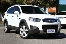 2011 Holden Captiva CG MY10 LX AWD White 5 Speed Sports Automatic Wagon Victoria Park Victoria Park Area Preview