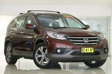 2013 Honda CR-V RM MY14 VTi-L 4WD Red 5 Speed Sports Automatic Wagon Waitara Hornsby Area Preview