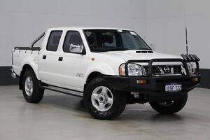 2011 Nissan Navara D22 Series 5 ST-R (4x4) White 5 Speed Manual Dual Cab Pick-up Bentley Canning Area Preview