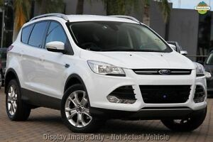 2013 Ford Kuga TF Trend AWD White 6 Speed Sports Automatic Wagon Wangara Wanneroo Area Preview