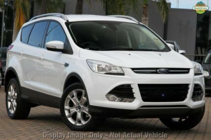 2015 Ford Kuga TF MK 2 Trend (AWD) Frozen White 6 Speed Automatic Wagon Mornington Mornington Peninsula Preview