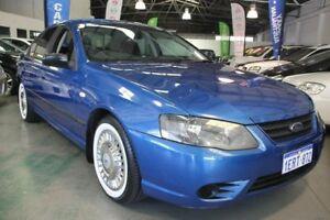 2007 Ford Falcon BF MkII XT (LPG) Blue 4 Speed Auto Seq Sportshift Sedan