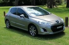 2011 Peugeot 308 T7 Allure Turbo Gold 6 Speed Automatic Hatchback Port Macquarie 2444 Port Macquarie City Preview
