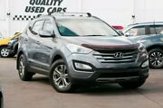 2013 Hyundai Santa Fe DM MY14 Active Grey 6 Speed Sports Automatic Wagon Capalaba Brisbane South East Preview