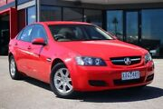 2009 Holden Commodore VE MY10 Omega Red 4 Speed Automatic Sedan Frankston Frankston Area Preview
