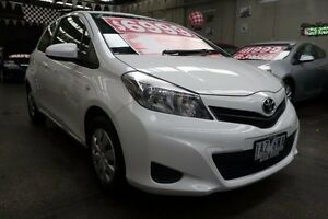 2014 Toyota Yaris NCP130R YR 5 Speed Manual Hatchback Mordialloc Kingston Area Preview