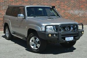 2012 Nissan Patrol Y61 GU 8 ST Silver 5 Speed Manual Wagon Midland Swan Area Preview