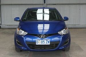 2014 Hyundai i20 PB MY14 Active Blue 4 Speed Automatic Hatchback Invermay Launceston Area Preview