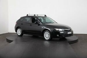 2009 Subaru Impreza MY09 RX (AWD) Black 5 Speed Manual Hatchback Mulgrave Hawkesbury Area Preview