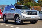 2015 Toyota Landcruiser Prado KDJ150R MY14 GXL Silver 5 Speed Sports Automatic Wagon Kalamunda Kalamunda Area Preview