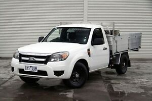 2011 Ford Ranger PK XL White 5 Speed Manual Cab Chassis Seaford Frankston Area Preview