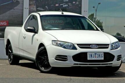 2014 Ford Falcon FG MkII EcoLPi Ute Super Cab White 6 Speed Sports Automatic Utility Ferntree Gully Knox Area Preview