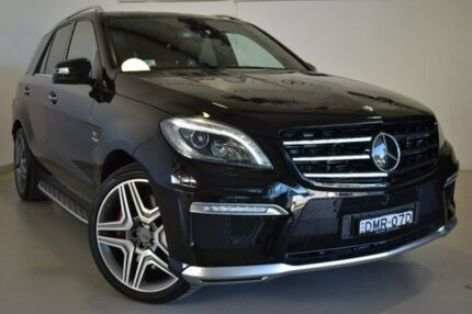 2014 Mercedes-Benz ML63 W166 AMG SPEEDSHIFT DCT Black 7 Speed Sports Automatic Dual Clutch Wagon Wagga Wagga Wagga Wagga City Preview
