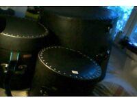 Drum harcases (le blond vintage)