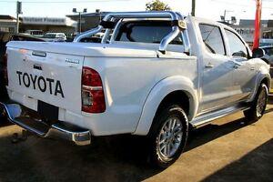2014 Toyota Hilux KUN26R MY14 SR5 Double Cab White 5 Speed Automatic Utility Preston Darebin Area Preview