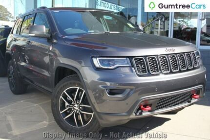 2017 Jeep Grand Cherokee WK MY18 Trailhawk Grey 8 Speed Sports Automatic Wagon