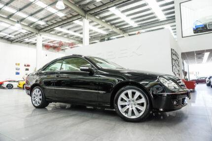 2005 Mercedes-Benz CLK350 C209 MY06 Avantgarde Black 7 Speed Automatic G-Tronic Coupe Port Melbourne Port Phillip Preview