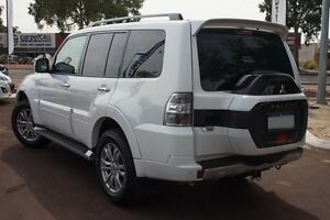 2015 Mitsubishi Pajero NX MY15 GLS White 5 Speed Sports Automatic Wagon Wilson Canning Area Preview