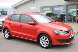 VOLKSWAGEN POLO 1.4 SE DSG 5d AUTO 85 BHP - VIEW 360 SPIN ON WEBSI (orange) 2010