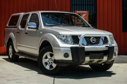 2007 Nissan Navara D40 ST-X Silver 6 Speed Manual Utility Molendinar Gold Coast City Preview