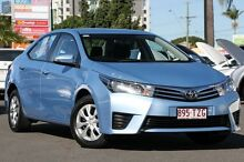 2014 Toyota Corolla ZRE172R Ascent S-CVT Blue Mist 7 Speed Constant Variable Sedan Macgregor Brisbane South West Preview