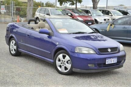 2006 Holden Astra TS MY06 Blue 4 Speed Automatic Convertible Wangara Wanneroo Area Preview