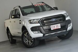 2016 Ford Ranger PX MkII Wildtrak Double Cab White 6 Speed Sports Automatic Utility Kedron Brisbane North East Preview