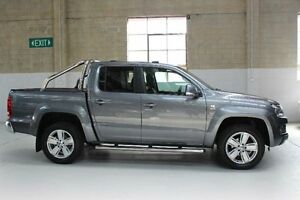 2011 Volkswagen Amarok 2H TDI400 Silver Manual Utility Knoxfield Knox Area Preview