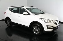 2013 Hyundai Santa Fe DM MY13 Active Creamy White 6 Speed Sports Automatic Wagon Victoria Park Victoria Park Area Preview