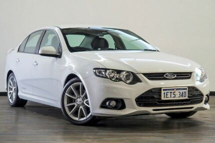 2014 Ford Falcon FG MkII XR6 White 6 Speed Sports Automatic Sedan